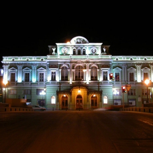 The Building of the Russian State Academic Bolshoi Drama Theater after G. A. Tovstonogov
