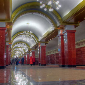 "The extension of the first metro line in Kazan from the metro station ""Prospekt Pobedy"" metro station ""Asherah"""